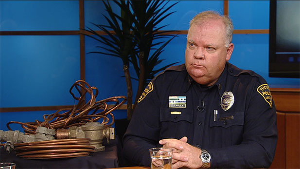 Tom Early, Lieutenant for the Tucson Police Department is raising awareness about the ongoing problem of metal theft in our community.