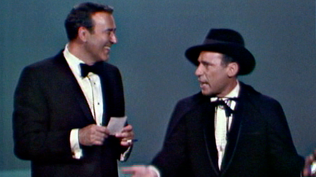 Mel and Carl in costume from the Andy Williams Show Courtesy of Barnaby Productions, Inc.