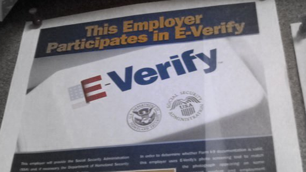 E-Verify poster spotlight