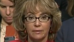 Former Rep. Gabrielle Giffords in testimony before Senate Judiciary Committee Jan. 30, 2013.