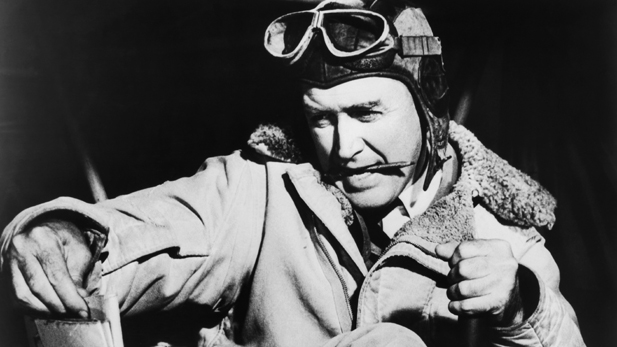 Jimmy Stewart as Charles Lindbergh