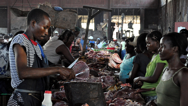 Market in Haiti