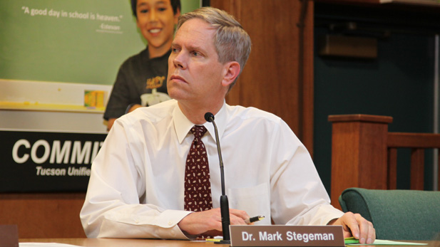 TUSD governing board member Mark Stegeman. (2013)