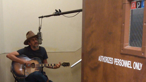 Howe Gelb, recorded under the stairs at Arizona Public Media