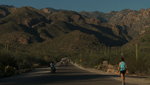The walking trail at Sabino Canyon leads people to the beautiful opening of the canyon.