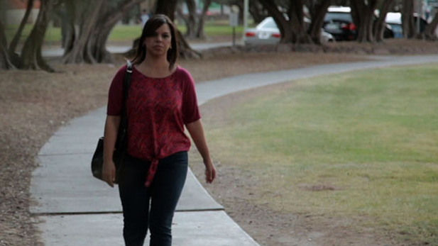 As a young mother, Dolores Villaseñor was the victim of domestic abuse for more than a decade. She is now helping other young women by sharing the story of how she turned her life around.