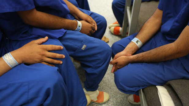 Florence detainees spot immigration