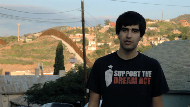 Mohammad Abdollahi, originally from Iran, works for the National Immigration Youth Alliance, a social media hub advocating for legalization of young students.