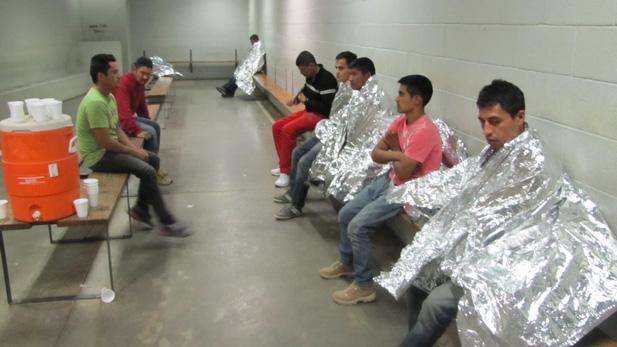immigrants in BP freezers spot