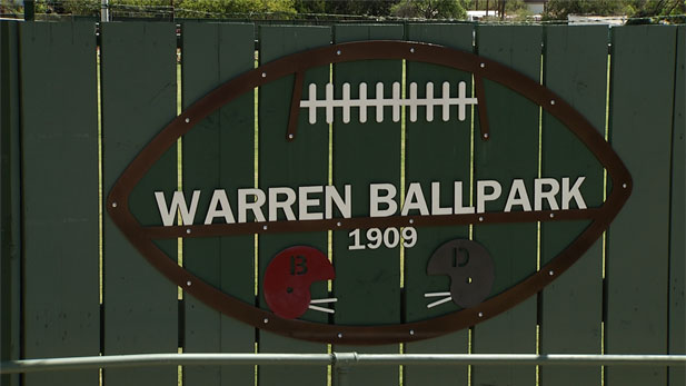Warren Ballpark sign spot