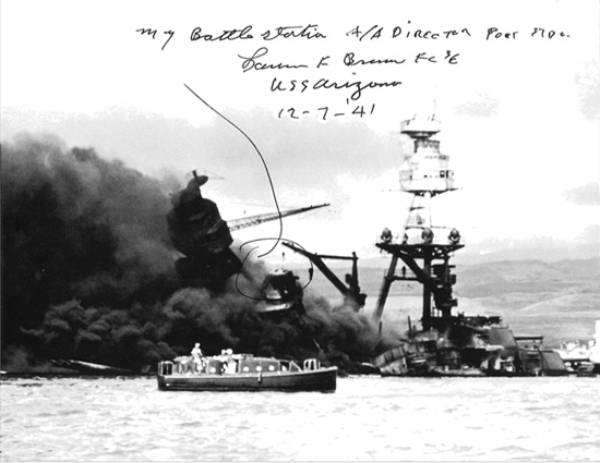 Pearl Harbor survivor ship photo