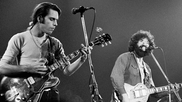 Bob Weir and Jerry Garcia Spotlight