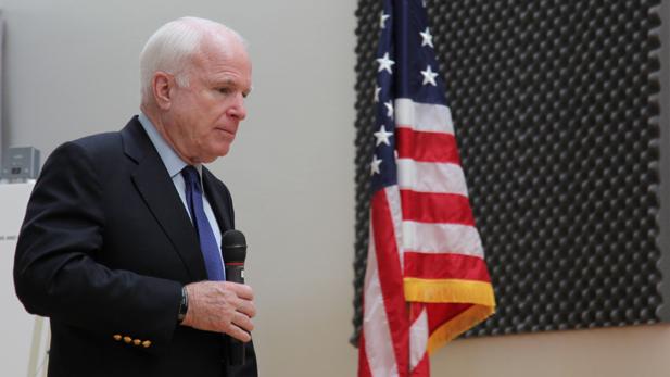 U.S. Sen. John McCain.
