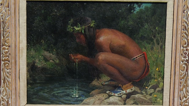 Cooling Water, Eanger Irving Couse (1866-1936)