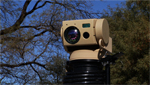 A technology company unveils a new camera designed to aide in border security.