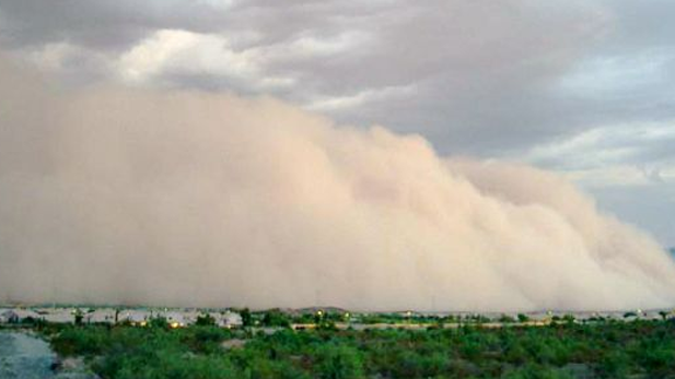 Haboob dust storm spotlight