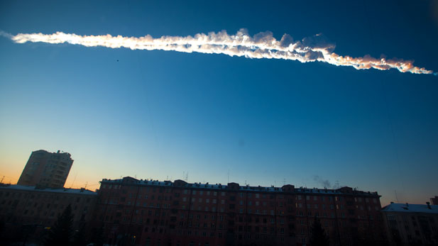 Meteor trail