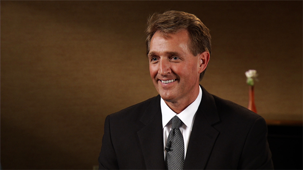 Jeff Flake discusses immigration reform and how he, along with eight other senators, are currently working on a proposal that would require compromise from both sides of the aisle.