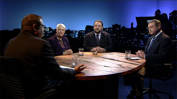 The Political Roundtable discusses the ongoing debate over background checks on gun sales and more.