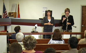 Judge Wendy Million Tucson City Court focus large