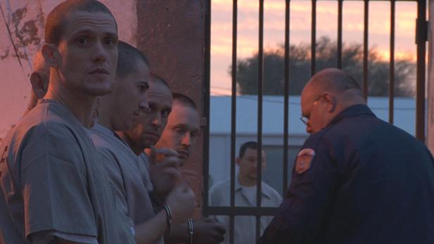 Inmates at Oklahoma State Reformatory in Granite, OK.