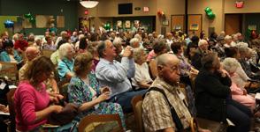 Centenarian crowd