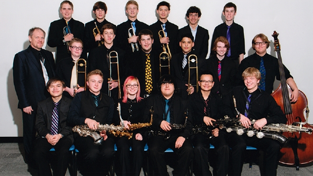 The Tucson Jazz Institute's Ellington Band, which took top honors at New York's Lincoln Center May 12, 2013.