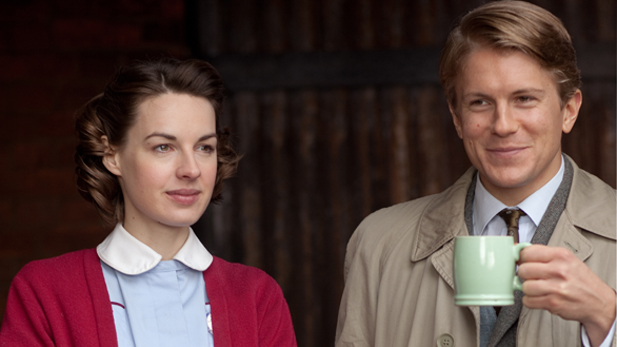 George Rainsford as Jimmy and Jessica Raine as Jenny Lee