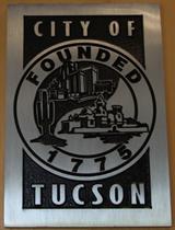 Tucson city seal.