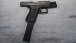 The Glock 9 mm gun Jared Lee Loughner used in the Jan. 8, 2011 shooting in Tucson.