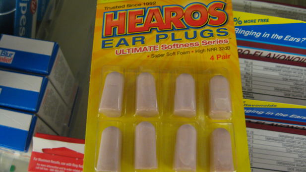 Jan 8 earplugs spotlight