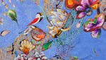 This painting, created by Jim Wade, sits in his studio. It is one of many nature inspired pieces from this Tucson artist.