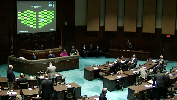 The Arizona House of Representatives, in a 2013 floor session.