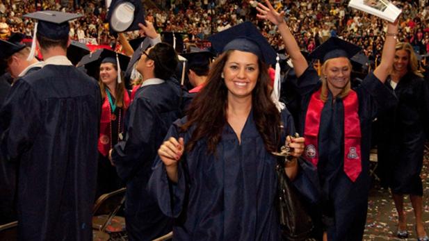 UA graduation generic spotlight