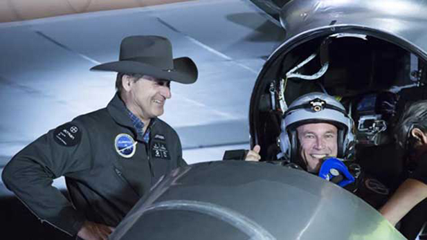 Solar Impulse Pilots Spotlight