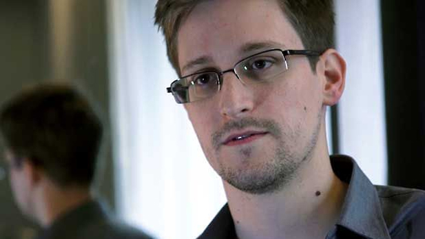 Edward Snowden, who worked as a contract employee at the National Security Agency. (AP Photo/The Guardian)