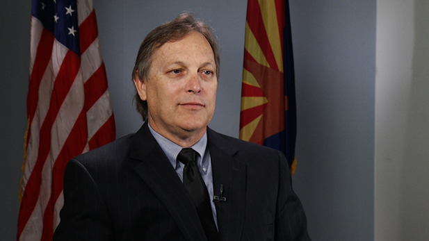 An interview with Arizona Senate President, Andy Biggs.