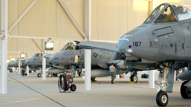 A-10s from the 354th Fighter Squadron at Tucson's Davis-Monthan Air Force Base.