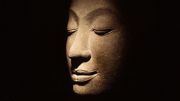 Head of the Buddha, Thailand.