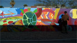 Arts Brigade mural projects are designed to mitigate blight such as graffiti and gang activity in communities.