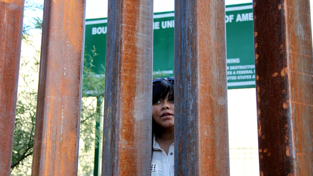 Lizbeth Mateo, 29, speaking from the Mexican side of the international border in Nogales.