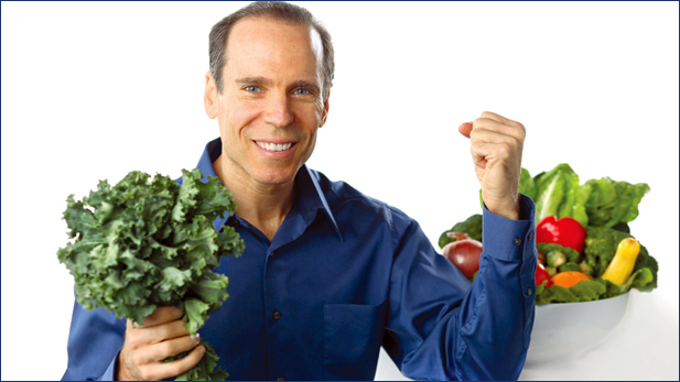 Best-selling author and researcher Dr. Joel Fuhrman.
