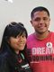 Lizbeth Mateo and Luis Leon, two of the DREAM 9.