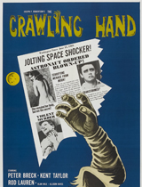 crawling hand poster portrait
