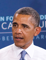 Obama Phoenix 080613 Portrait