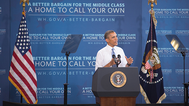President Barack Obama, speaking in Phoenix Aug. 6, 2013.