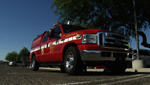 The Tucson Fire Department utilizes trucks like this one to respond to less serious calls which don't require a full fire engine.