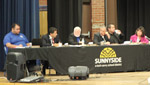Sunnyside School District governing board