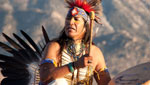 Native American sound healer Tony Redhouse