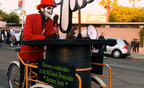 All Souls Procession buskers